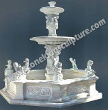 Fontana di pietra intagliata mano di scultura del marmo (sk-2441)
