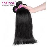 Precio al por mayor del 1b del color recto natural indio sin procesar del pelo