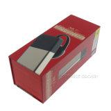 Коробка всеобщего беспроволочного шлемофона Bluetooth красная упаковывая