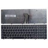 La nuova tastiera del computer portatile dell'OEM per Lenovo Z560 Z565 Z560A G570 G575 grigio li incornicia tastiera