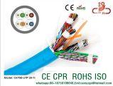 Cabo de LAN UTP do Ce do CPR da passagem do teste do solha do cabo de uma comunicação Cat5e