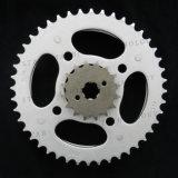Roda dentada Chain da motocicleta para o cabo flexível do ventilador do Cg 150 e o cabo flexível do titã do Cg 150