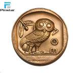 공장 도매 금화 관례 자신 디자인 금속 동전
