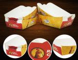 ロゴの習慣によって揚げられている食糧紙箱