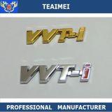 Divisas de encargo del emblema del coche de las etiquetas engomadas de la carta del cromo del ABS