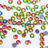 2088 Новейшие лучшие Ss20 Peridot Ab горячей фиксации стекла Rhinestone Crystal исправление Rhinestone Preciosa копирования (HF-SS20 peridot ab /5A к категории)