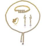 女性の美しいアクセサリの宝石類はカスタム宝石類セットを設計する