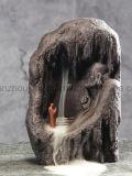 Bruciatore di incenso decorativo di ceramica di riflusso del mestiere della porcellana su ordinazione