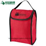 新しい折りたたみ上昇温暖気流は非編まれる袋を畳む昼食袋のクーラーを運ぶ