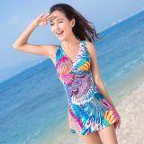 Swimwear Fabric (ASQ096)印刷されたナイロンファブリック女性