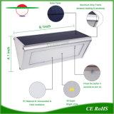 El radar del sensor LED de pared de luz Solar jardín lámpara solar de seguridad