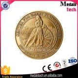 Monete antiche indiane dell'arbitro di calcio dell'oro del ricordo di alta qualità dell'OEM