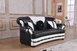 Jogo secional de couro real do sofá da mobília de escritório Home