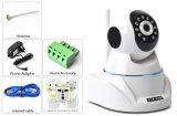 2017新しいバージョンのスマートなホームセキュリティーIPのカメラサポート100PCS無線アラームは小型PTZ CCTVのカメラを入れる