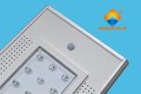 Réverbère 18W Integrated solaire de vente chaud avec la qualité