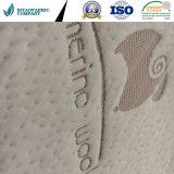 Fibras de lã natural de tecido para colchões