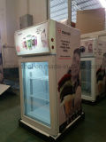 Good Quality Mini Gelato Display Freezer with Fan Strong Assisted Cooling Syatem