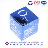 Cosmética personalizada Cartón de Plata Caja de embalaje de papel