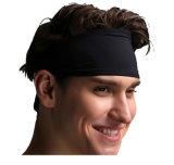 Bandeau pur de bande de cheveu de couleur d'extension élevée d'élasticité