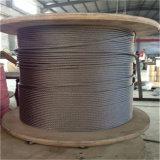 SUS 316 1X 19 corde de fils en acier inoxydable de 5 mm