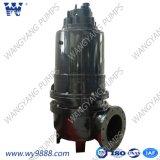 Bomba de água de esgoto submergível elétrica da série de Wq