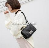 최신 판매 싼 가격에 의하여 누비질되는 사슬 숙녀 디자이너 핸드백 중국 도매