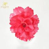 6cm de diámetro 2pcs/Bouquet Rojo Canation perfume de flores