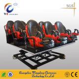 De Afzet van de Zetel van de Simulator van de Motie van de Apparatuur van de Bioskoop van Wangdong