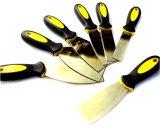 نحاس أصفر [بوتّي نيف] مع مقبض بلاستيكيّة غير ينشّط مكشط