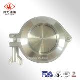 Valvola di ritenuta sanitaria registrabile dell'acciaio inossidabile 304/316L