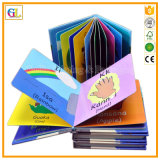 Alto servicio de impresión del libro del tacto de los niños de Qaulity