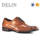 Venta caliente hombres zapatos de calidad del calzado de cuero para hombres