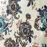 2016 nuevo telas impresas del diseño terciopelo en los fabricantes de China
