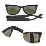 Colorida marca personalizada gafas polarizadas gafas de sol al aire libre