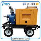 Diesel de 6 pulgadas de bomba de agua para riego con dosel de prueba de la Climatología