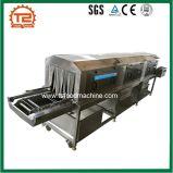 Lavatrice di plastica riscaldata a vapore automatica della rondella della cassa del piatto della casella del cestino
