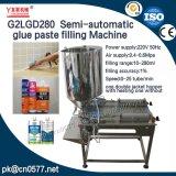 Máquina de rellenar de la goma doble semiautomática de las pistas para la salsa de tomate (G2LGD280)
