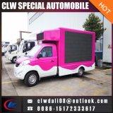 중국에서 트럭을 광고하는 야외에서 이동할 수 있는 발광 다이오드 표시 트럭