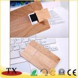 USB di legno del bastone di memoria dell'azionamento dell'istantaneo del USB di figura della scheda