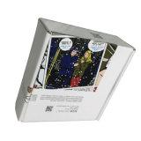 Boîte-cadeau de empaquetage de carton avec l'impression de logo