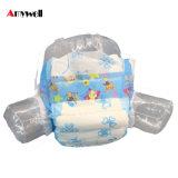 Fábrica descartável do tecido do bebê da absorção elevada respirável macia das fraldas do bebê