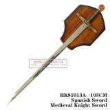 Espadas do rei Arthur Espada Medieval Swordsdecoration 103cm