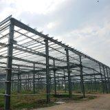 산업 강철 구조물 작업장