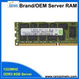 서버를 위한 중국 Sm DDR3 8GB 1333MHz PC3l-10600 렘에서 공장