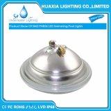 Caixa de aço inoxidável 12V Multi Color PAR56 Piscina debaixo de luz LED