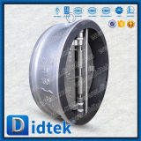 Valvola di ritenuta doppia della cialda del piatto dell'acciaio inossidabile di Didtek api 6D 24inch