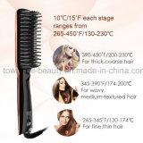 Escova cerâmica elétrica do vapor do Straightener do cabelo de Digitas do ar quente de Profeesional da cor nova