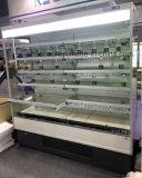 Pantalla de alta calidad de productos refrigerados refrigerador con CE