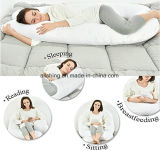 Palier de maternité de support de corps de coussin de grossesse de palier de soins de palier de forme de C
