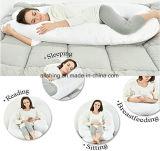 C 모양 모성 베개 간호 베개 임신 방석 바디 지원 베개